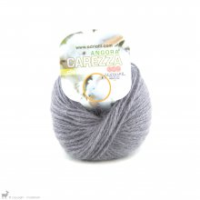 Laine angora Carezza Gris Souris 34