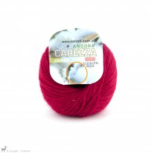 Laine angora Carezza Rouge Amor 36