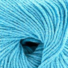 Laine mérinos Duo Comfort Bleu Turquoise 86