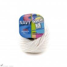 Navy Blanc Meringué 41 - Adriafil