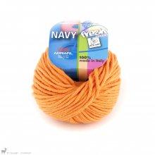Fil de coton Navy Orange Halloween 65
