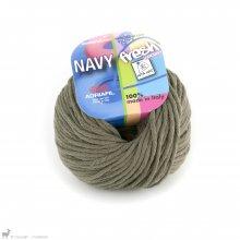 Fil de coton Navy Vert Kaky 48