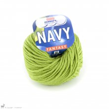 Fil de coton Navy Vert Kiwi 67