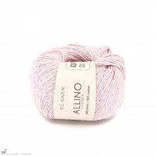Fil de coton Allino Rose Pâle 12