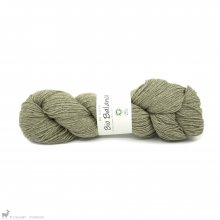 Laine de mouton Bio Balance Vert Kaki BL019
