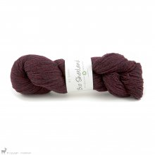 Laine de mouton Bio Shetland Rouge SH30