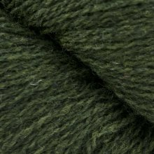 Laine de mouton Bio Shetland Vert Olive Sombre SH08