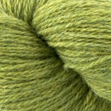 Laine de mouton Bio Shetland Vert SH10