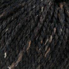 Laine de mouton Hamelton Tweed 1 Noir Brun HX17