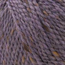 Laine de mouton Hamelton Tweed 1 Violet Bruyères HX29