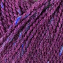 Laine de mouton Hamelton Tweed 1 Violet Cyclamen HX06