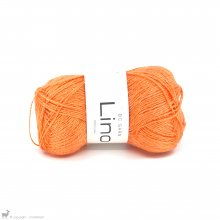 Fil de lin Lino Orange Pop Ln 37