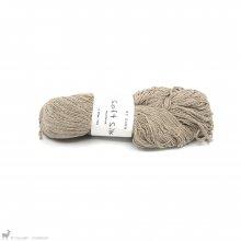 Fil de soie Soft Silk Brun Crème SS44