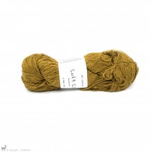 Fil de soie Soft Silk Jaune Curry SS35 Bain 2007