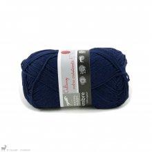Fil de bambou Ambre Bleu Amiral 094