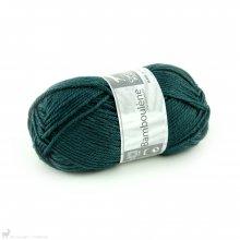 Laine de mouton Bamboulene Bleu Pétrole 275