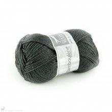 Laine de mouton Bamboulene Gris Charbon 034