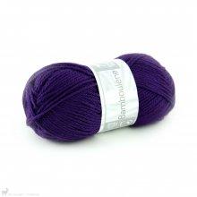 Laine de mouton Bamboulene Violet 061