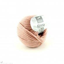 Laine de mouton Kinna Rose Rosée 108
