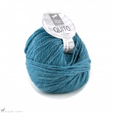 Laine d'alpaga Quito Bleu Turquoise 272