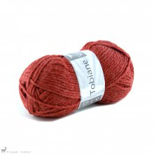 Laine d'alpaga Tobiane Rouge Tanin 309