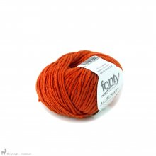 Laine mérinos Aubusson Orange Epicé 29
