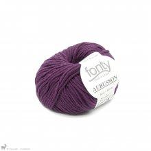 Laine mérinos Aubusson Violet Vendange 11