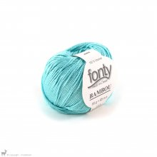Fil de bambou Bambou Bleu Turquoise 457
