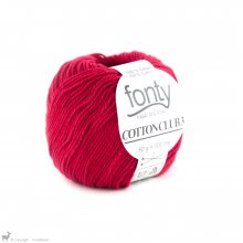 Fil de coton Cotton Club 3 Rouge Inferno 495