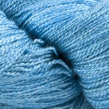 Fil de soie Gleem Lace Bleu Blue Lagoon