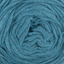 Fil de coton Hoooked Ribbon XL Bleu Pétrole 32