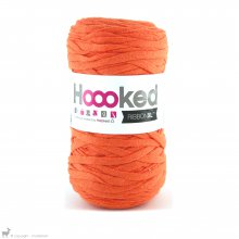 Fil de coton Hoooked Ribbon XL Orange Vitaminé 36