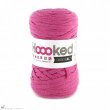 Fil de coton Hoooked Ribbon XL Rose Bubblegum 27