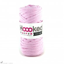 Fil de coton Hoooked Ribbon XL Rose Guimauve 40