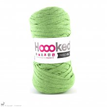 Fil de coton Hoooked Ribbon XL Vert Pomme 30