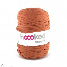 Fil de coton Hoooked Zpagetti Orange Camel