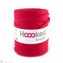 Fil de coton Hoooked Zpagetti Rouge Corail