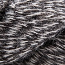Laine de lama Eco-Llama Noir/Beige LE178