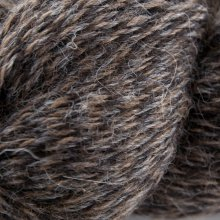 Laine de lama Eco-Llama Noir/Brun LE876