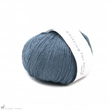 Fil de soie Knitting For Olive Pure Silk Dove Blue