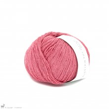 Fingering - 04 Ply Knitting For Olive Pure Silk Raspberry Pink