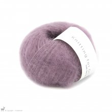 Fil de soie Knitting For Olive Soft Silk Mohair Artichoke Purple