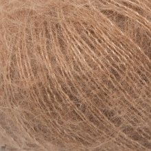 Fil de soie Knitting For Olive Soft Silk Mohair Brown Nougat