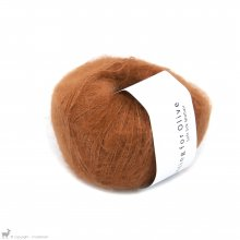 Fil de soie Knitting For Olive Soft Silk Mohair Copper