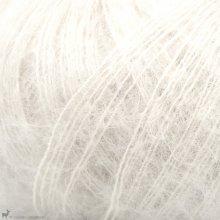 Fil de soie Knitting For Olive Soft Silk Mohair Cream