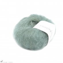Fil de soie Knitting For Olive Soft Silk Mohair Dusty Aqua