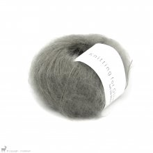 Fil de soie Knitting For Olive Soft Silk Mohair Dusty Moose