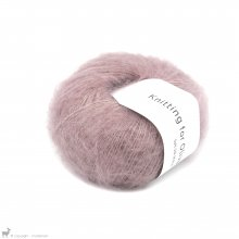 Fil de soie Knitting For Olive Soft Silk Mohair Dusty Rose