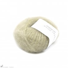Fil de soie Knitting For Olive Soft Silk Mohair Fennel Seed