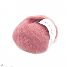 Lace - 02 Ply Knitting For Olive Soft Silk Mohair Flamingo